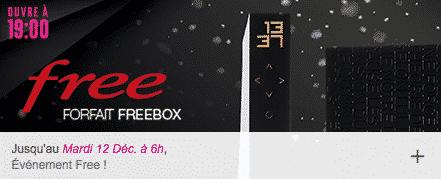 vente priv e la freebox r volution seulement 4 99 euros par mois en promotion jusqu au 12. Black Bedroom Furniture Sets. Home Design Ideas