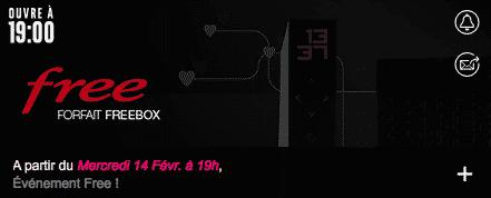 freebox r volution nouvelle vente priv e demain 4 99 euros par mois adsl et fibre fr. Black Bedroom Furniture Sets. Home Design Ideas