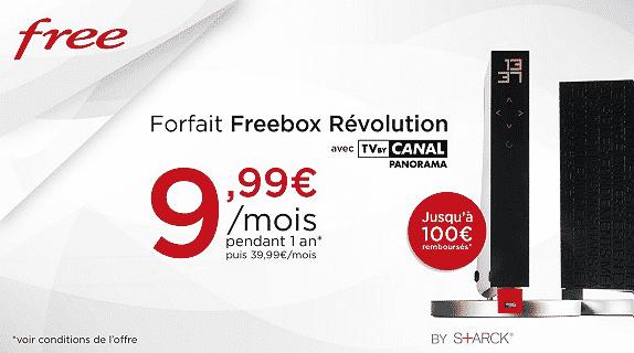 vente priv e la freebox r volution 9 99 euros par mois. Black Bedroom Furniture Sets. Home Design Ideas