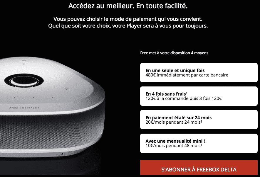 Nouvelle Freebox Delta Tres Complete Et Tres Chere 59 99 Euros