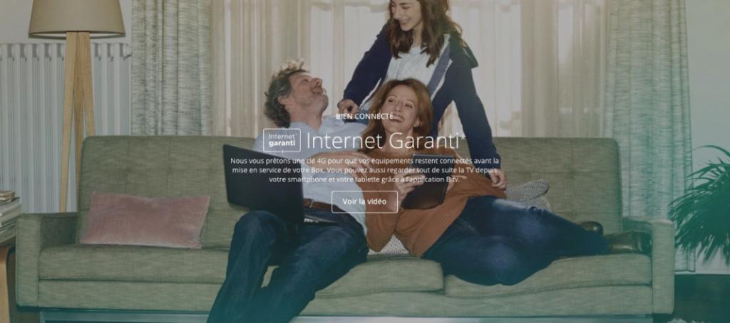 Bouygues Télécom : Internet garanti avec la BBox (2019)
