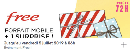 Vente privée Free mobile forfait 100 Go avec smartphone offert : prolongation (juin 2019)