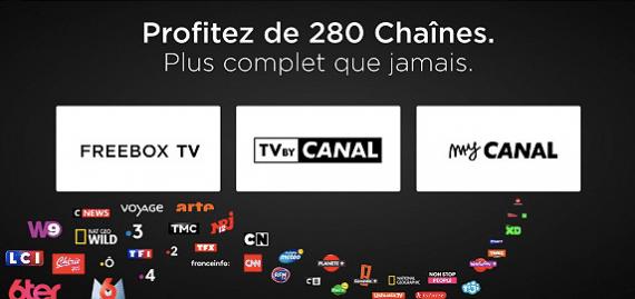 Free : vente privée Freebox Révolution, bouquet TV by CANAL Panorama (août 2019)