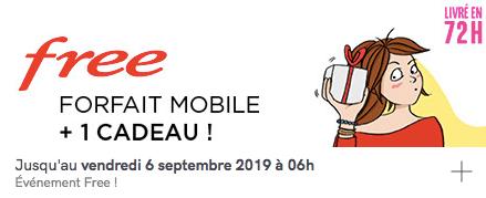 Vente privée Free mobile forfait 100 Go avec smartphone Nokia offert (août / septembre 2019)