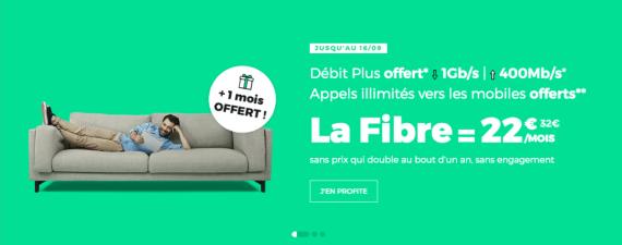 RED by SFR : la box ADSL, fibre optique ou THD en promotion avec 1 mois offert (août / septembre 2019)