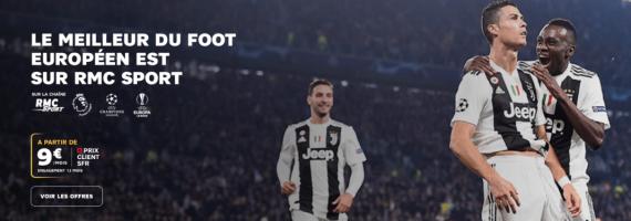 RMC Sport : prix réduit client box SFR (septembre 2019)