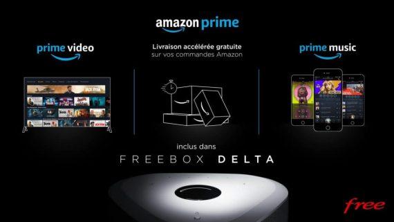 Freebox Delta de Free avec Amazon Prive inclus gratuitement