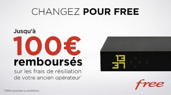 Free : vente privée de la Freebox Mini 4k avec offre de remboursement des frais de résiliation du précédent fournisseur (décembre 2019)