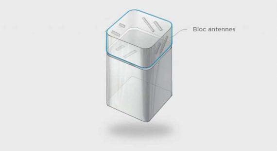 Bbox de Bouygues Télécom : nouvelle box fibre compatible Wi-Fi 6 (antennes)