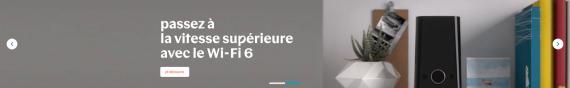 Nouvelle Bbox Wi-Fi 6 de Bouygues Télécom (bandeau de lancement)