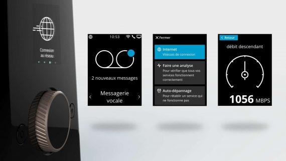 Bbox de Bouygues Télécom : nouvelle box fibre compatible Wi-Fi 6 (interface de l'écran)