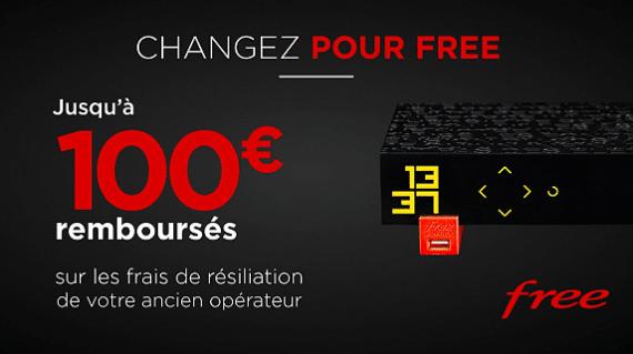 Free : vente privée Freebox Révolution avec remboursement des frais de résiliation (février / mars 2020)