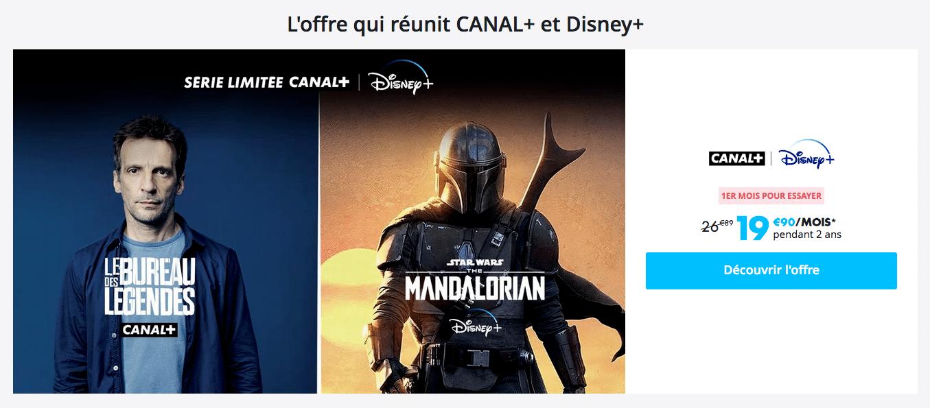 CANAL+ & Disney+ : série limitée de lancement (mars 2020)