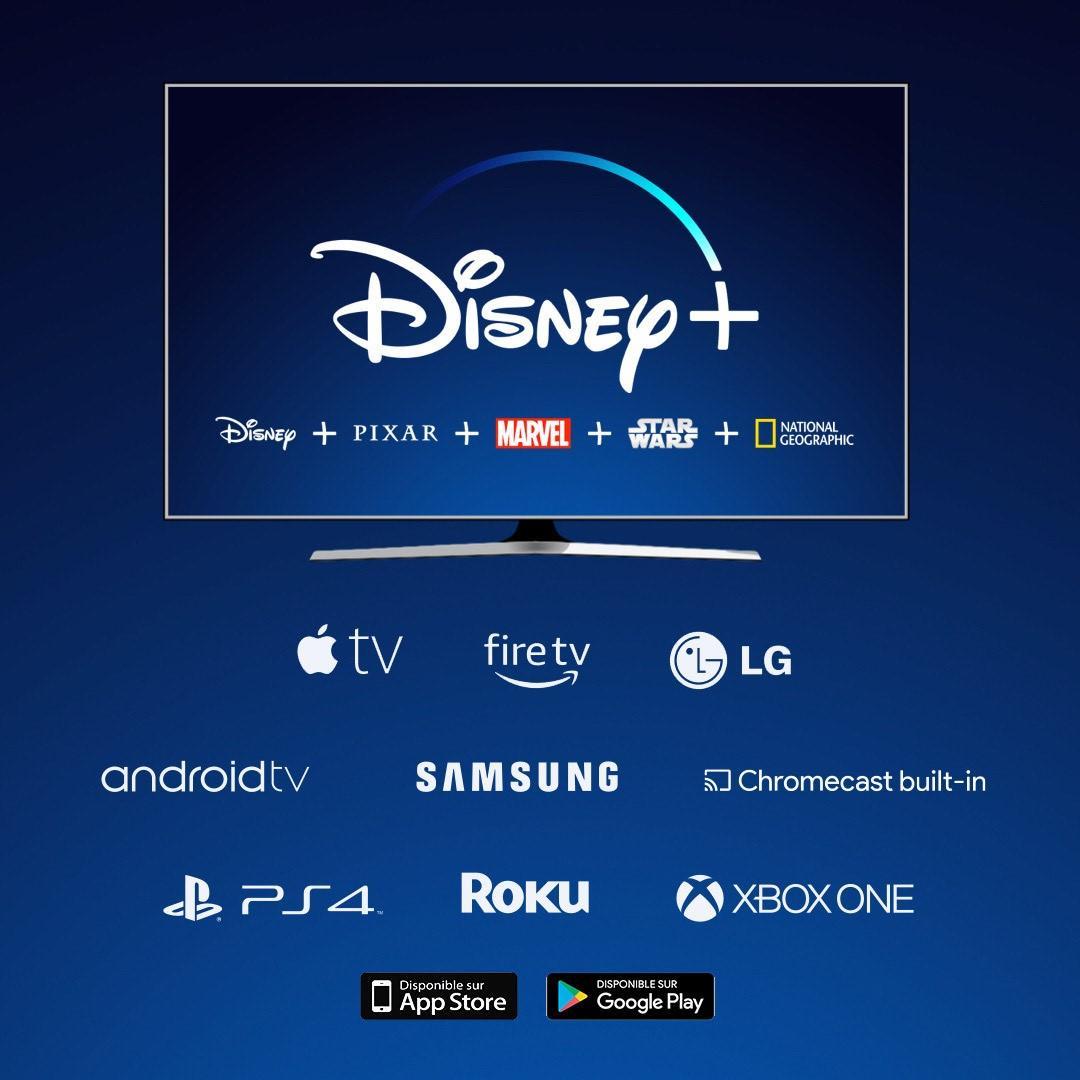 Disneyplus : appareils compatibles