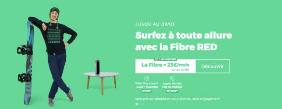 RED by SFR : la box ADSL, fibre optique ou THD en promotion avec 1 mois offert (mars 2020)