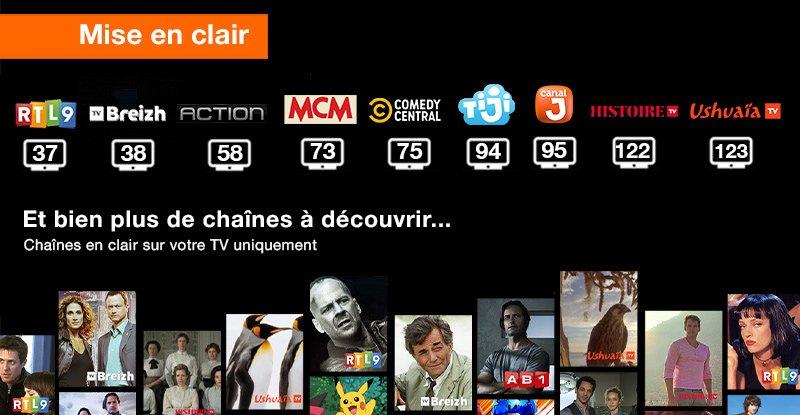 Orange & Sosh (Livebox) : chaînes offertes à l'occasion de la COVID-19 (avril / mai 2020)