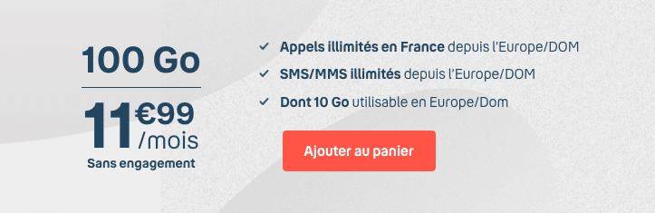 Bouygues Telecom : promotion sur un forfait mobile 100 Go en série limitée (mai 2020)