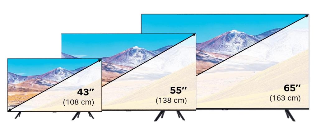 SFR : box internet avec Smart TV Samsung 4K UHD (tailles d'écran)