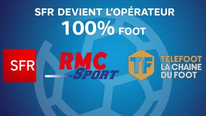 SFR : RMC Sport / Téléfoot la chaîne (Mediapro)