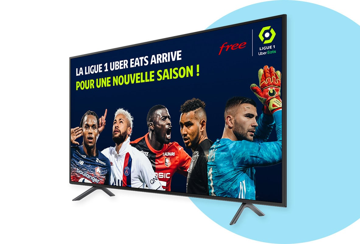 Freebox POP de Free : Ligue 1 Uber Eats