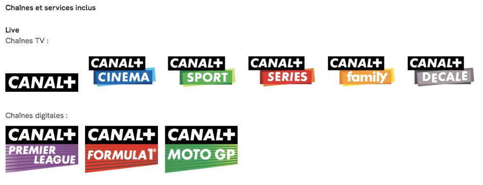 Les chaînes CANAL+ en vente privée à 14,90 euros par mois pendant 1 ans sur Veepee (septembre / octobre 2020)