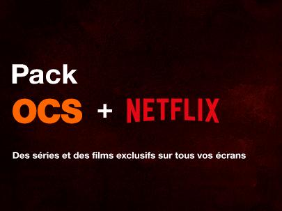 Orange : Pack Netflix / OCS (Livebox)
