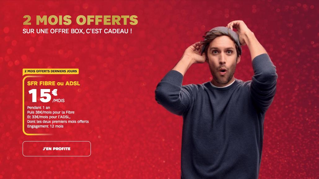 SFR : la box internet en promotion pour le Black Friday (décembre 2020)