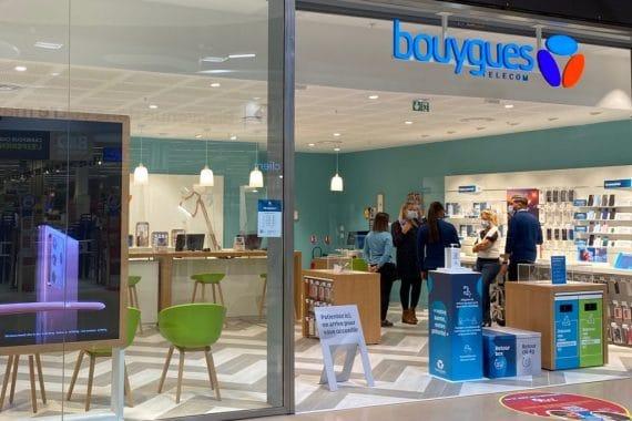 Bouygues Telecom : boutique Chambourcy (crédit photo : Bouygues Telecom)