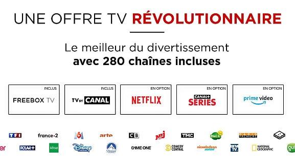 Free : offre TV de la vente privée Freebox Révolution (mars 2021)