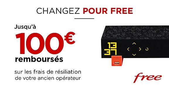 Free : remboursement des frais de résiliation avec la vente privée Freebox Révolution (mars 2021)