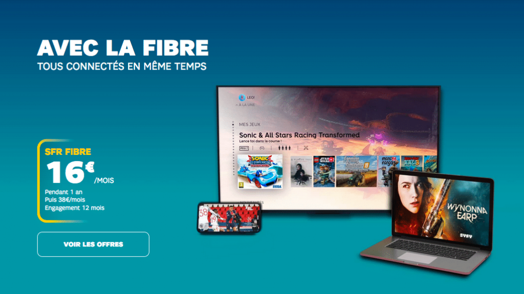 SFR : la box internet ADSL, fibre optique et THD en promotion (mars 2021)