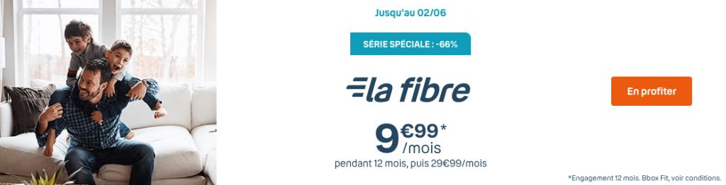 Bouygues Telecom : la Bbox Fit en série spéciale à 9,99 euros par mois pendant 1 an (mai / juin 2021)