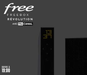 Free : annonce de la vente privée Freebox Révolution avec TV by CANAL (août 2021)