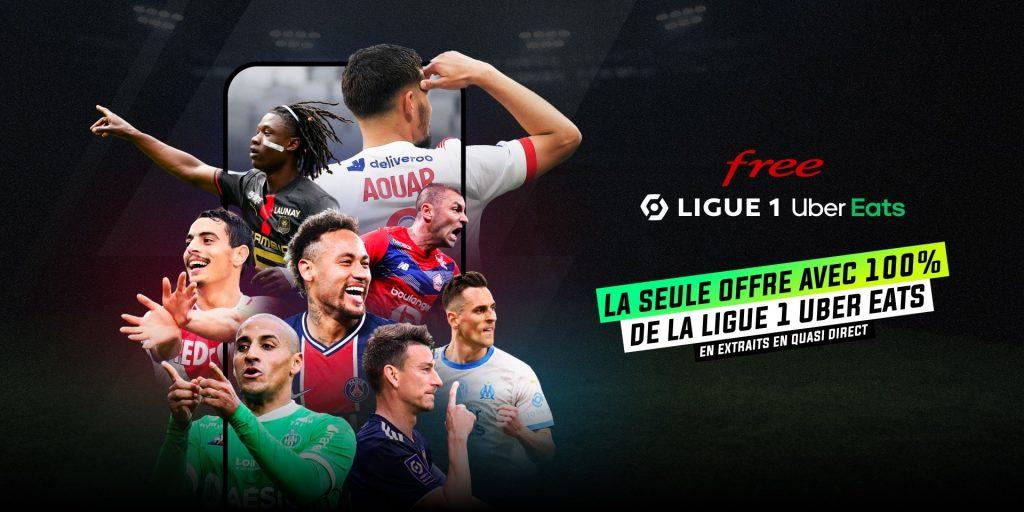 Free Ligue 1 Uber Eats : saison 2021-2022